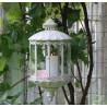 Lampion Do Zawieszenia w Stylu Prowansalskim Chic Antique Duży