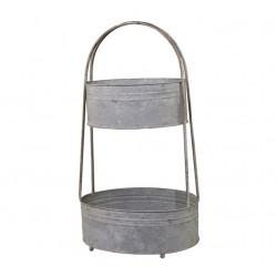 Centrepiece w 2 baskets