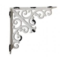 Shelf bracket w. fleur-de-lis