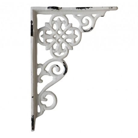 Shelf bracket w. french pattern