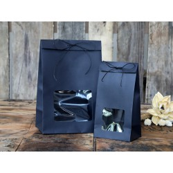 Gift bag w. window 100 pcs.