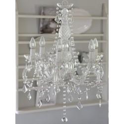Żyrandol z Kryształkami 2
