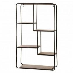 French Shelf w. wooden shelves