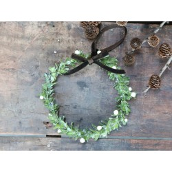 Fleur Boxwood wreath (X20) w. berries