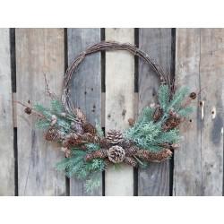 Fleur Wreath (X20) w. branches & cones