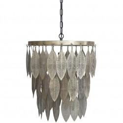 Metalowa Lampa Liście Chic Antique B