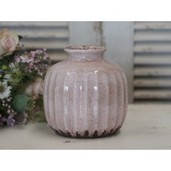 Vase antique powder H16/D15 cm
