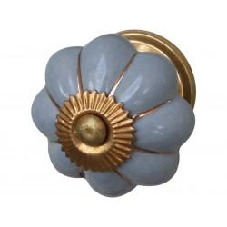 Gałki do Mebli Niebieskie Chic Antique 2