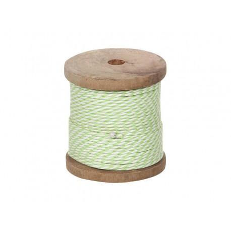 Sznureczek Chic Antique Biało-Zielony