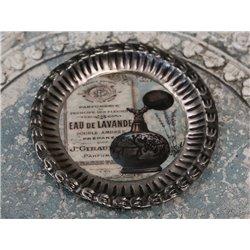 Tray w.print Eau de Lavande D14 cm