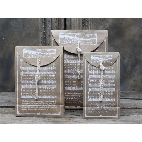 Gift bag (X15) w.Christmas song print