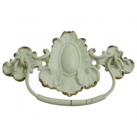 Knob antique cream 11x6 cm