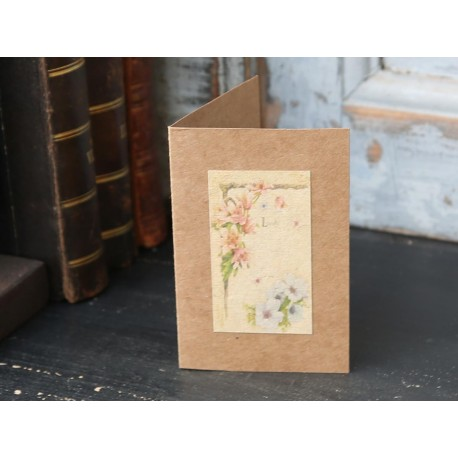 Kartka z Kwiatami Chic Antique 3