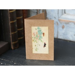 Kartka z Kwiatami Chic Antique 1