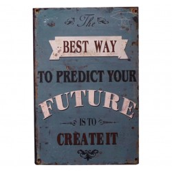 "Sign ""Future"" 30x20 cm"