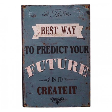"""Sign """"Future"""" 30x20 cm"""