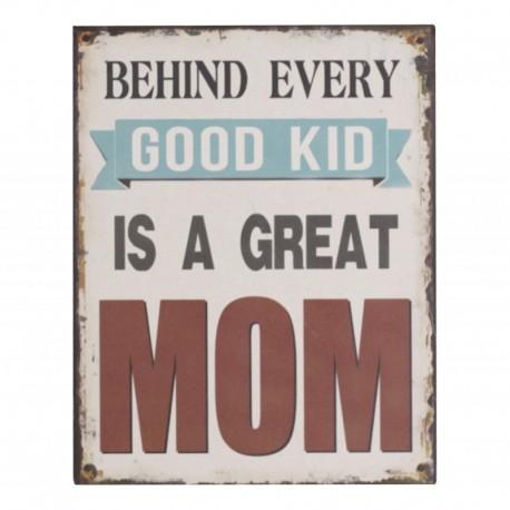 "Sign ""Mom"" 24x19 cm"