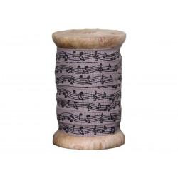 Wstążka Na Szpuli Chic Antique Nuty 10m