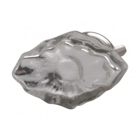 Gałki meblowe silver-look 4,5x2,5 cm