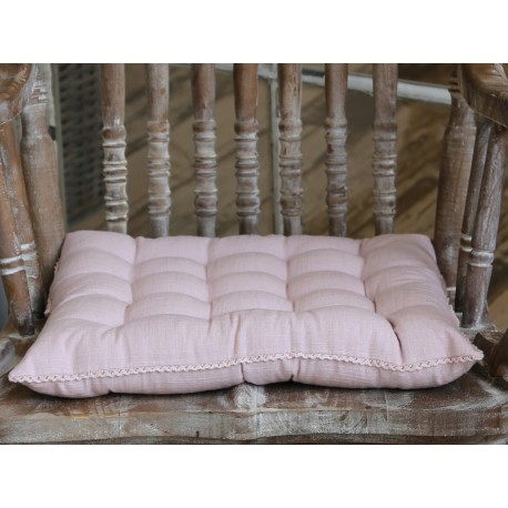 Poduszka Na Krzesło Chic Antique z Koronką 5