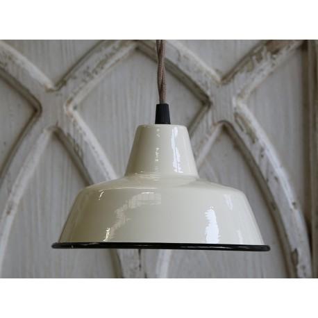 Vintage enamel lamp (S16)