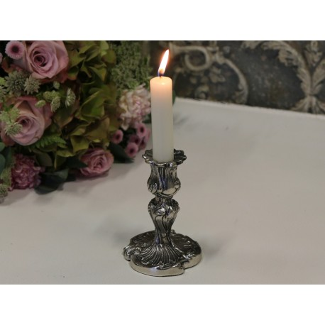 Świecznik antique silver