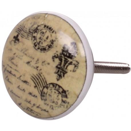 Gałki Do Mebli Chic Antique Pocztówka