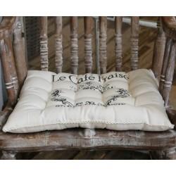 Poduszka Na Krzesło Chic Antique z Napisami