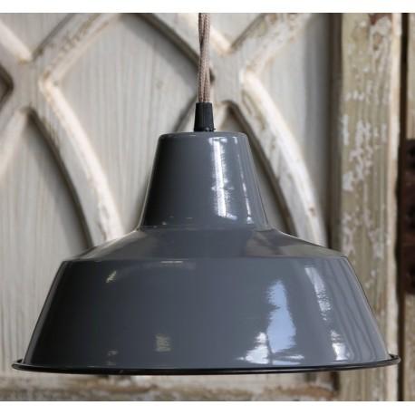 Lampa Metalowa Scandi Chic Szara 1
