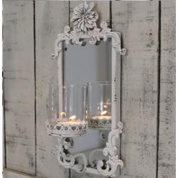 Świecznik z Lusterkiem Chic Antique