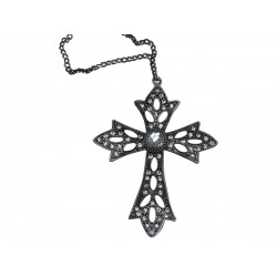 Cross w.simili H10/W7 cm