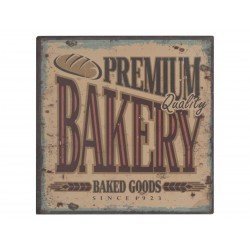 "Sign ""Bakery"" 22x22 cm"