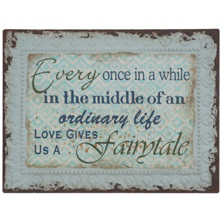 Sign Fairytale L33xW43 cm