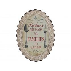 Sign Families L46xW34 cm