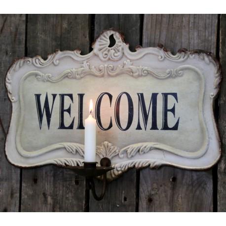 Świecznik Ścienny Welcome
