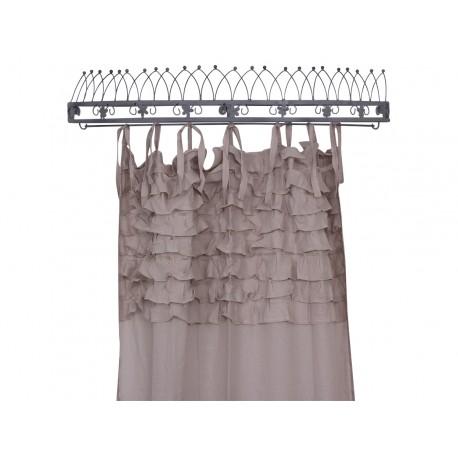 Curtain w.flounce powder