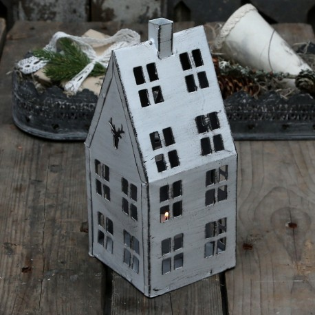 Candle house (X16) w. deer