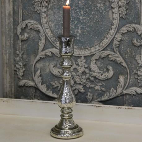 Srebrny Świecznik Chic Antique 2