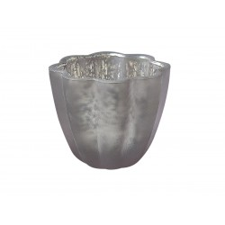 Tealight holder powder H7/W8,5 cm