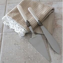 Łopatka i Nóż Do Ciasta Chic Antique A