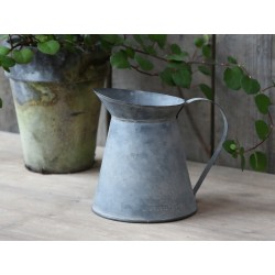 French jug antique zinc deco