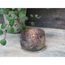 Tealight holder antique sand