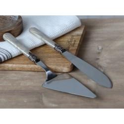 Łopatka i Nóż Do Ciasta Chic Antique B