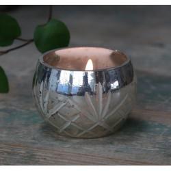 Srebrny Świecznik Na Tealight B