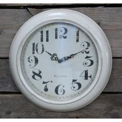Zegar Ozdobny Chic Antique Kremowy
