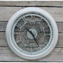 Zegar Ozdobny Chic Antique Beżowy