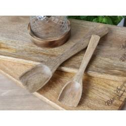 Łyżka z Drewna Mango Chic Antique 2B