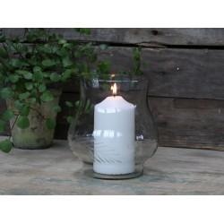 Lampion Szklany Chic Antique Gałązki