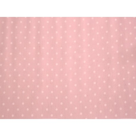 Cerata Matowa Różowa Kropki 20m