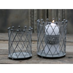 Lampion Chic Antique Romby 2